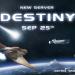 New server announced: Destiny